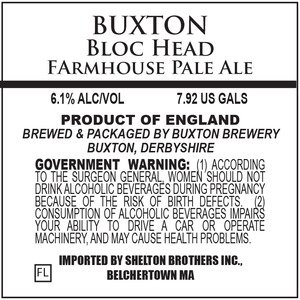 Buxton Brewing Bloc Head