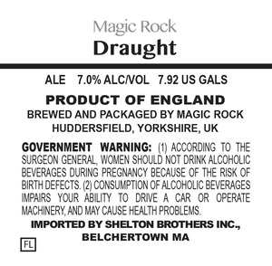 Magic Rock Draught