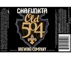 Chafunkta Brewing Company Old 504