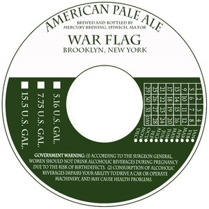 War Flag American Pale