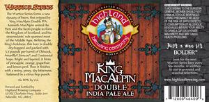 Highland Brewing Co. King Macalpin