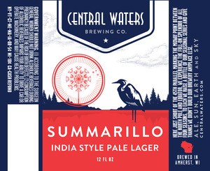Central Waters Brewing Company Summarillo