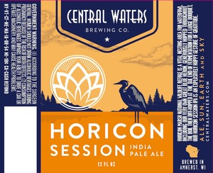 Central Waters Brewing Company Horicon Session IPA