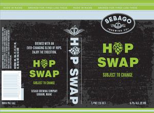 Sebago Brewing Company Hop Swap