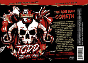 Todd The Axe Man India Pale Ale