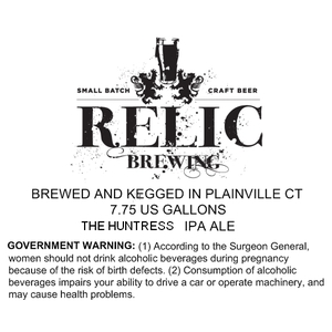 Relic Brewing The Huntress