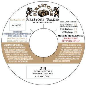 Firestone Walker Brewing Company 213