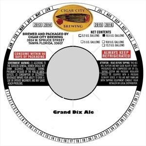 Grand Dix Ale