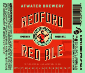Atwater Brewery Redford Red Ale