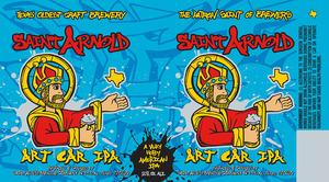Saint Arnold Brewing Company Art Car IPA