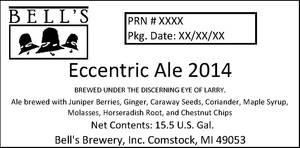 Bell's Eccentric Ale 2014