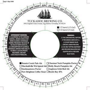 Tuckahoe Brewing Company Dennis Creek Pale Ale