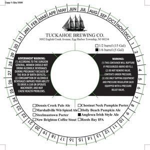Tuckahoe Brewing Company Anglesea Irish Style Ale