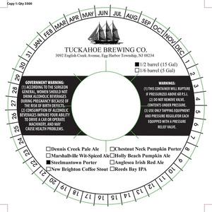 Tuckahoe Brewing Company Steelmantown Porter