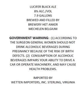 Lucifer Black Ale