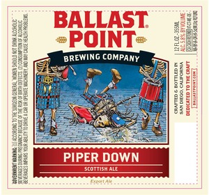Ballast Point Brewing Co Piper Down