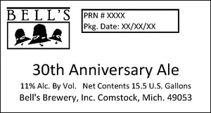 Bell's 30th Anniversary Ale