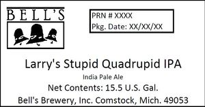 Bell's Larry's Stupid Quadrupid IPA