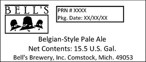 Bell's Belgian-style Pale