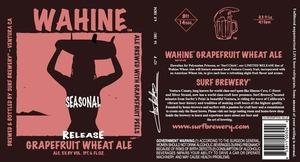 Wahine Grapefruit Wheat Ale