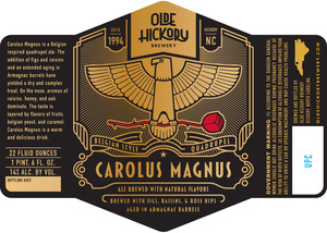 Brasserie Olde Hickory Carolus Magnus