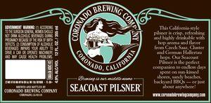 Coronado Brewing Company Seacoast Pilsner