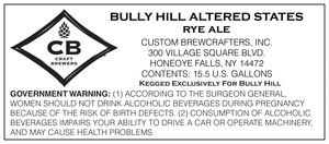 Bully Hill Altered States Rye