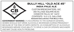 Bully Hill Old Ace 45