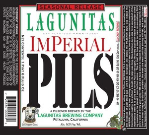 The Lagunitas Brewing Company Imperial Pils