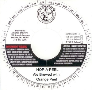 Atwater Brewery Hopapeel