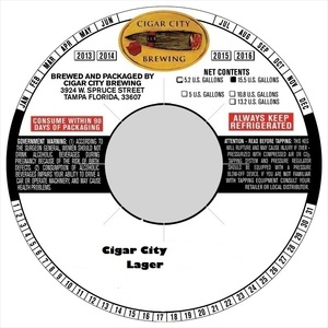 Cigar City Lager