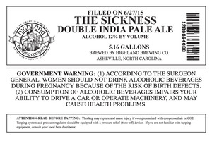 Highland Brewing Co. The Sickness