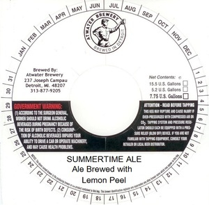 Atwater Brewery Summertime Ale