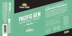 Green Flash Brewing Company Pacific Gem