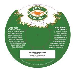 Kona Brewing Co. Bourbon Barrel Aged Kua Bay