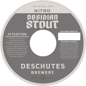 Deschutes Brewery Obsidian
