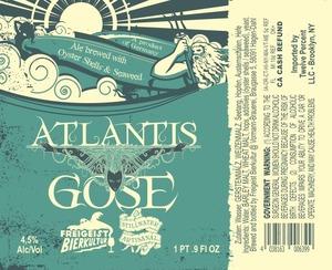 Stillwater Artisanal Atlantis Gose