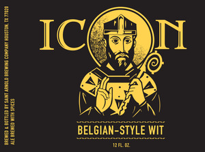 Saint Arnold Brewing Company Icon Belgian Style Wit
