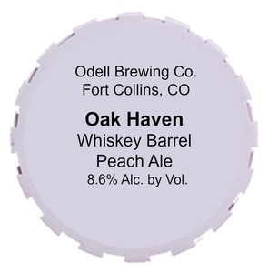 Odell Brewing Company Oak Haven