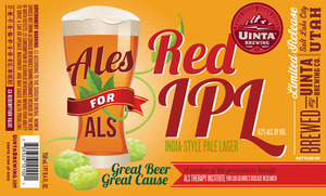 Uinta Brewing Company Red India Pale Lager