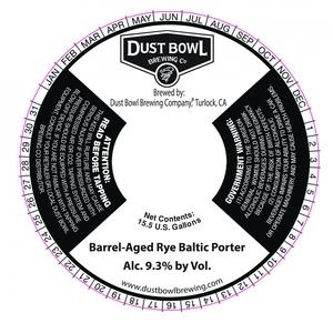 Barrel-aged Rye Baltic Porter