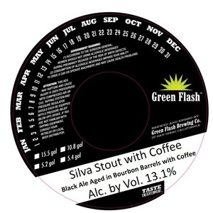 Green Flash Brewing Company Silva Stout With Coffee