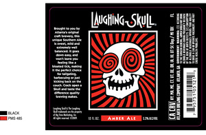 Red Brick Laughing Skull