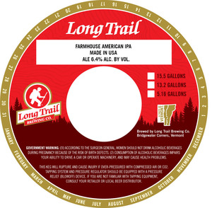 Long Trail Brewing Co. Farmhouse American IPA