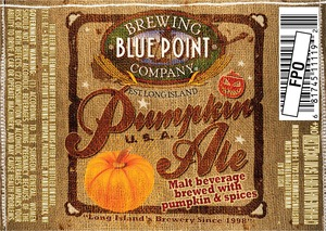 Blue Point Brewing Company Pumpkin