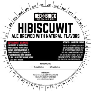 Red Brick Hibiscuwit