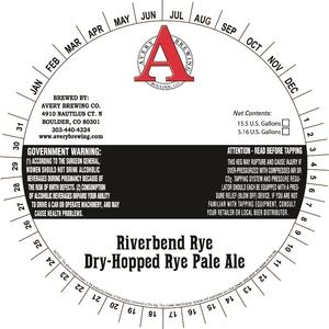 Avery Brewing Company Riverbend Rye Dry-hopped Rye Pale Ale