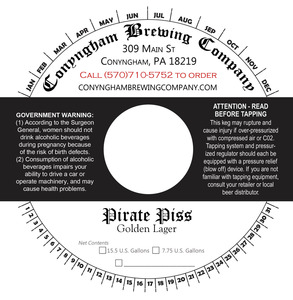 Conyngham Brewing Company Pirate Piss