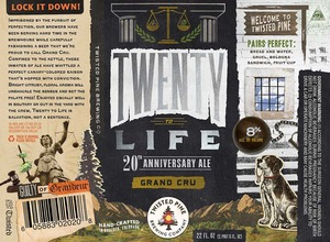 Twisted Pine Brewing Company Twenty To Life