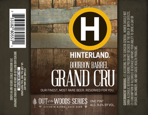 Hinterland Bourbon Barrel Grand Cru